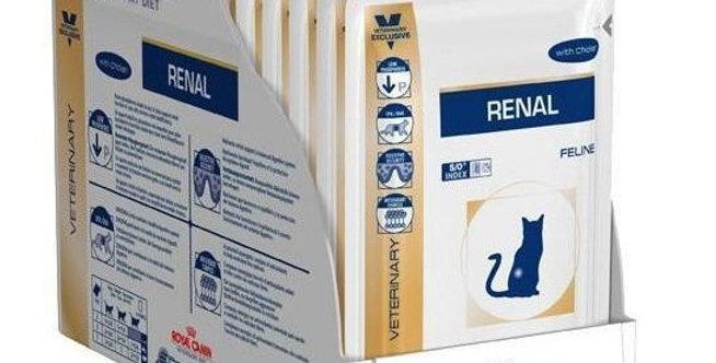 Royal canin Pouch Renal para gatos CAJA