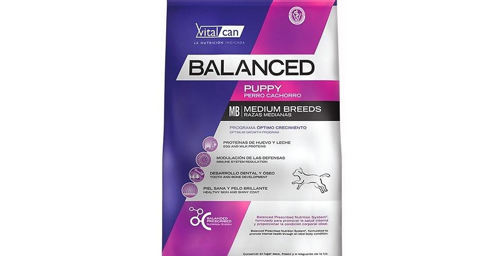Vital Can Balanced Cachorro Medium Breed 12kg