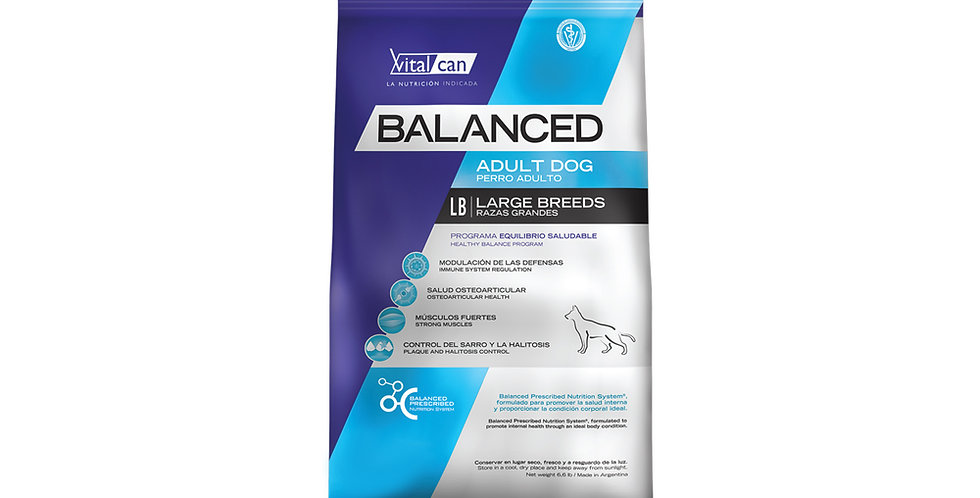 Vital Can Balanced Adulto Large Breed 15kg