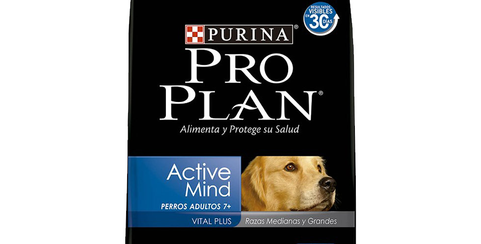 Pro Plan Perro Medium And Large Breed  Active Mind +7