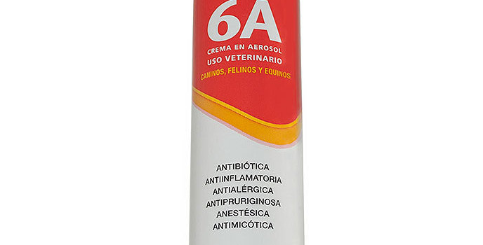 Crema 6a Spray Antibiótica Antiinflamatoria Anestésica LABYES