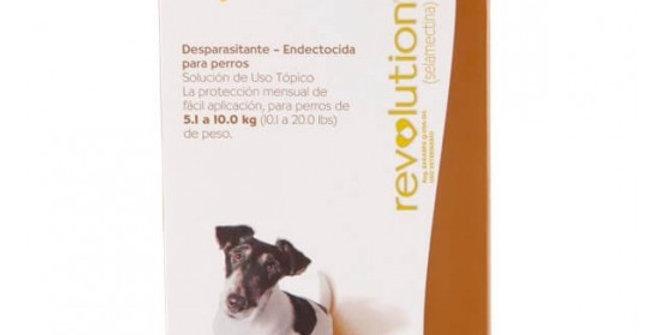 Revolution Perro 5/10 Kg ZOETIS