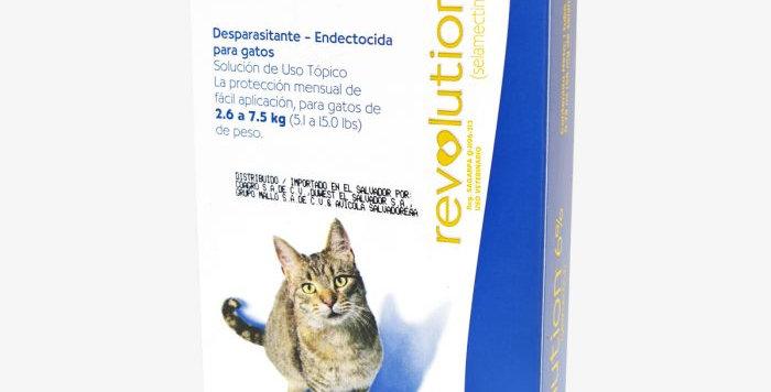 Reolution Gato 2.6/7.5 Kg.