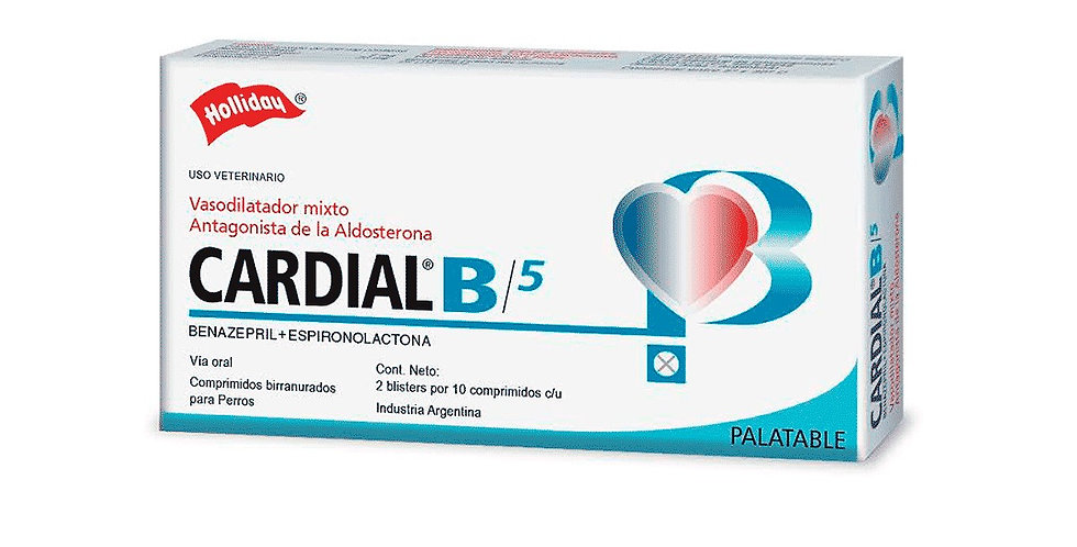 Cardial B 5mg x blister (10 comprimidos) HOLLIDAY