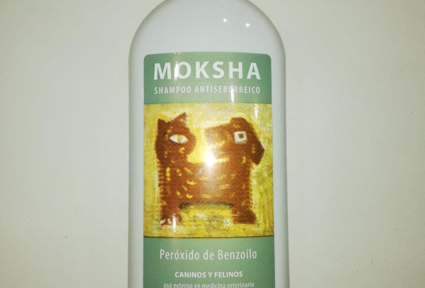 Shampoo Moksha Antiseborreico con Peroxido de Benzoilo