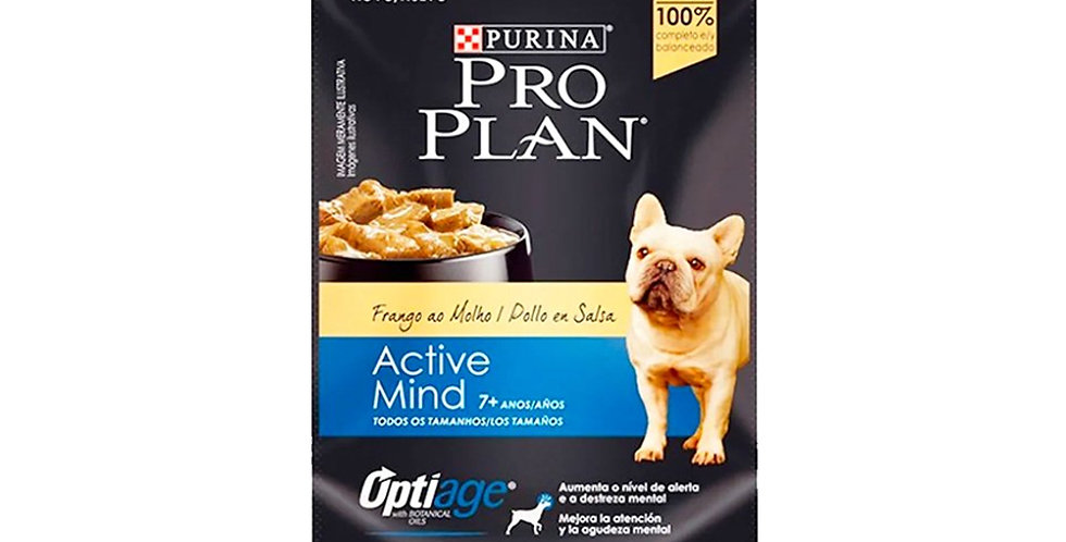 Pro Plan Pouch Perro Active Mind +7 (Alimento Húmedo)