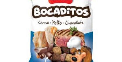 Golocan Bocaditos Blandos Carne, Pollo, Chocolate 100gr