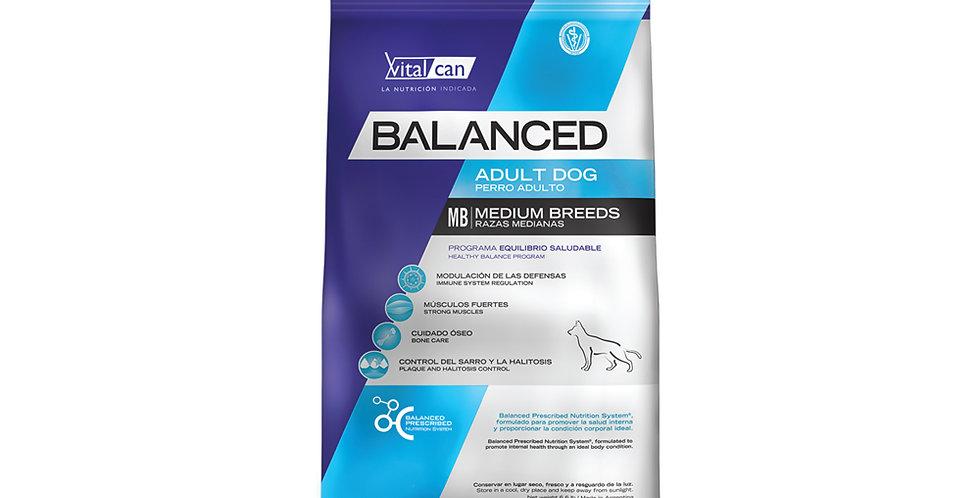 Vital Can Balanced Adulto Medium Breed 20kg