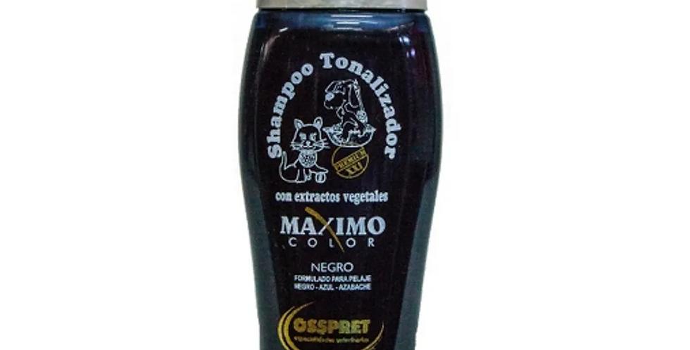 Shampoo Osspret Maximo Color Negro 250ml