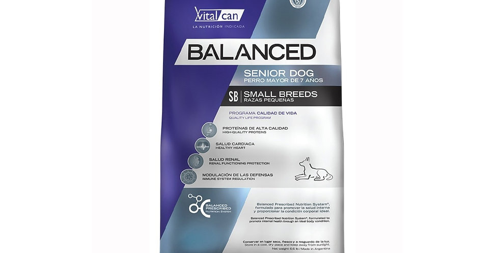 Vital Can Balanced Senior Small Breed 7.5kg