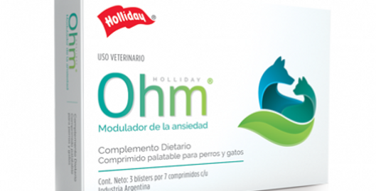 Ohm Perros Comprimidos x blister HOLLIDAY