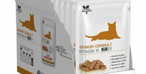 Royal Canin Pouch Senior Stage2 CAJA