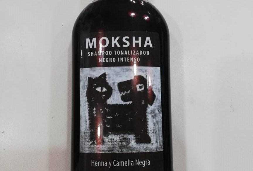 Shampoo Moksha Tonalizador NEGRO 250cc