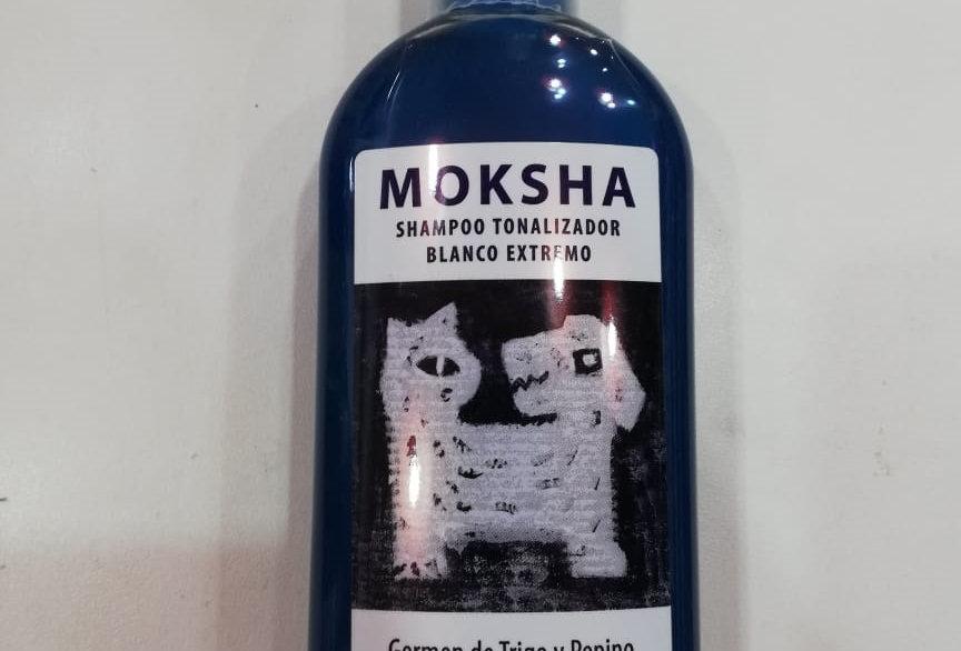 Shampoo Moksha Tonalizador BLANCO 250cc