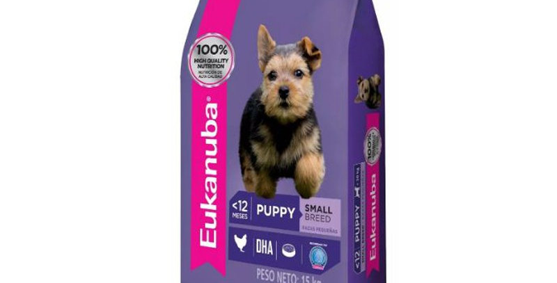 Eukanuba Puppy Small Breed 15kg