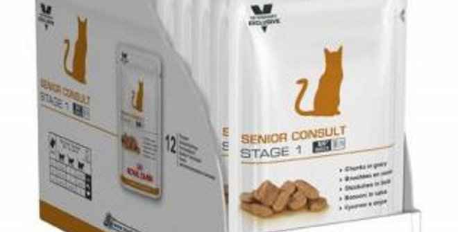 Royal Canin Pouch Senior Stage1 CAJA