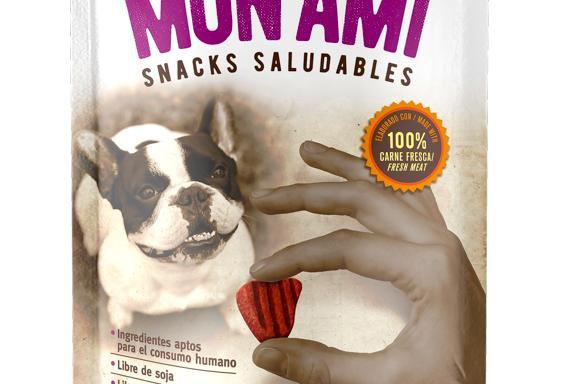 Mon Ami Snack Saludables Churrasquitos 75gr