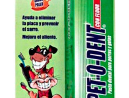 Pet o Dent Pasta Dental x125gr PORTA