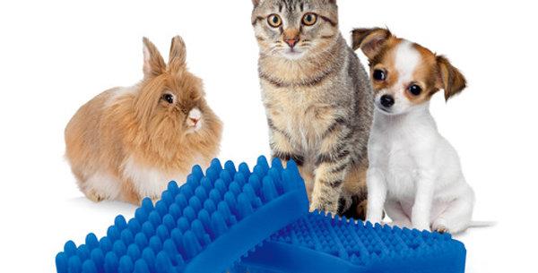 Cepillo Silicona Pet+me Perros Gatos Pelo Corto RICHMOND