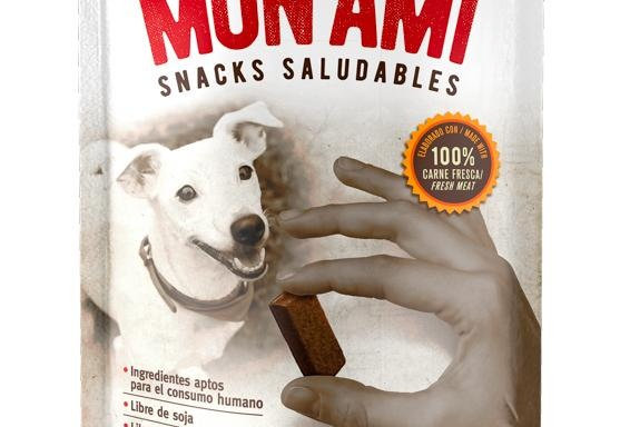 Mon Ami Snack Saludables Trainee 75gr