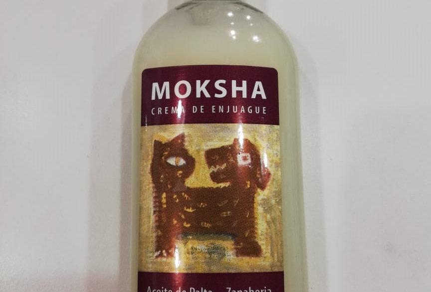 Crema de Enjuague Moksha Acite de Palta/Zanahaoria