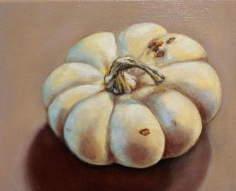Fall Gourd (white)