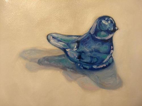 Bluebird of Happiness Light Study