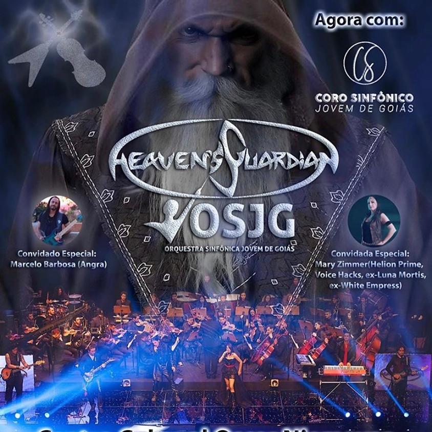 Ensaio com Heaven's Guardian e Orquestra Sinfônica
