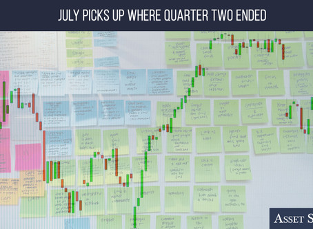 July Picks Up Where Quarter Two Ended   Weekly Market Minute
