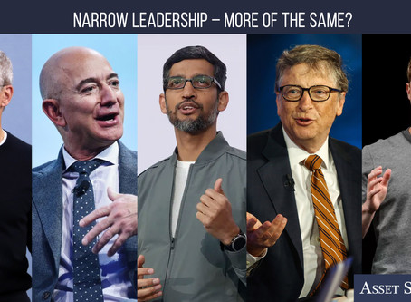Narrow Leadership – More of the Same?   Weekly Market Minute