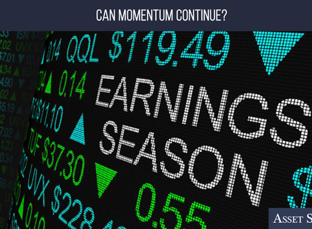 Can Momentum Continue?   Weekly Market Minute