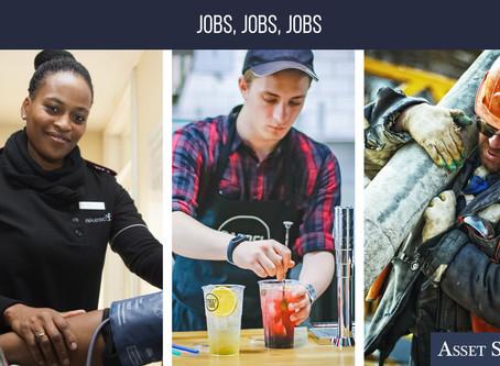 Jobs, Jobs, Jobs   Weekly Market Minute