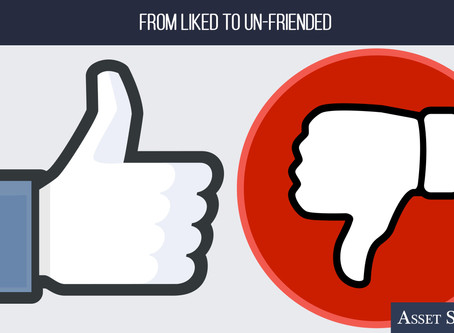 From Liked to Un-Friended   Weekly Market Minute
