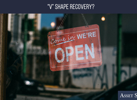 """""""V"""" Shape Recovery?   Weekly Market Minute"""