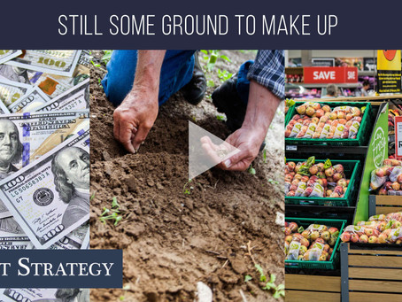 Still some ground to make up!  | Weekly Market Minute