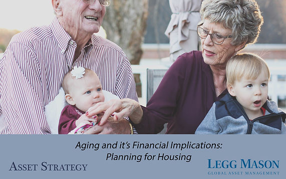 Aging and it's Financial Implications- P