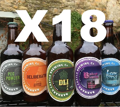 Mixed Case - 18 bottles