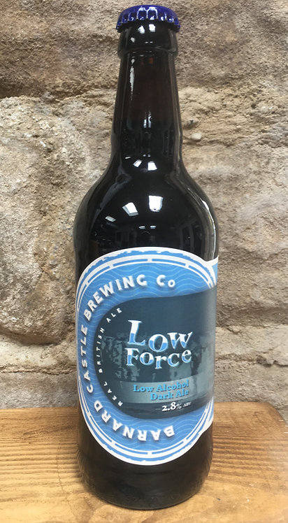 Low Force (Low Alcohol Dark Ale) 2.8% abv