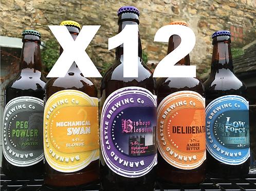 Mixed Case - 12 bottles