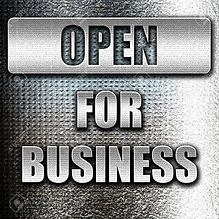 54580846-grunge-metal-open-for-business-