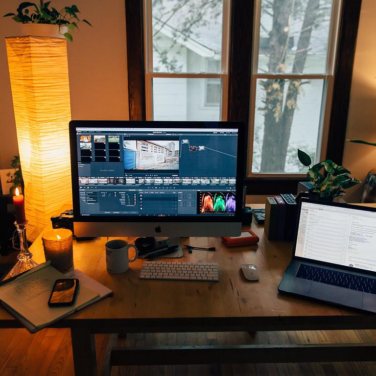 Graphic Design for Video Webinar
