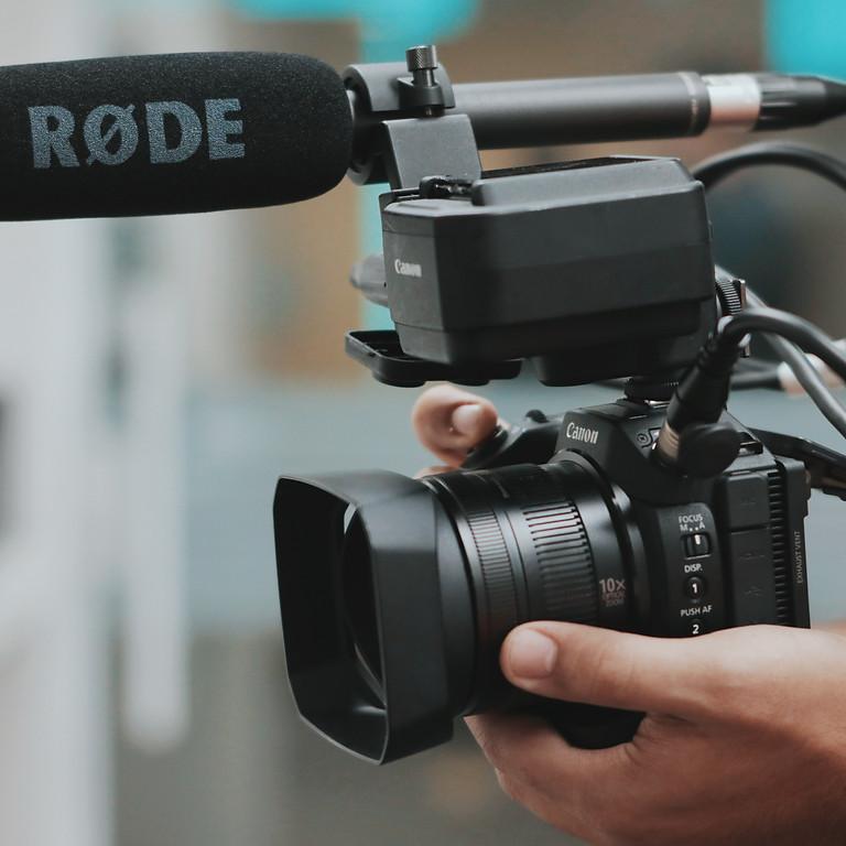 Recording Audio for Video Webinar