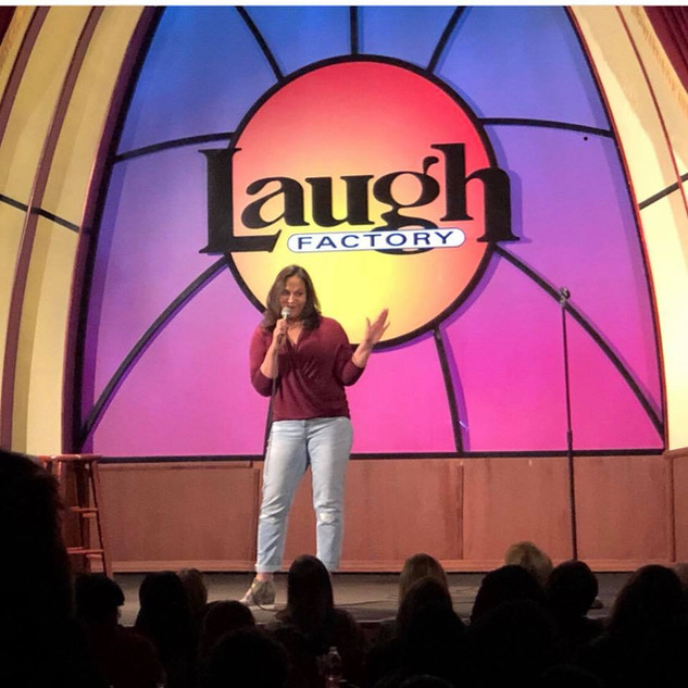 Peforming at the Laugh Factory (Chicago, IL)