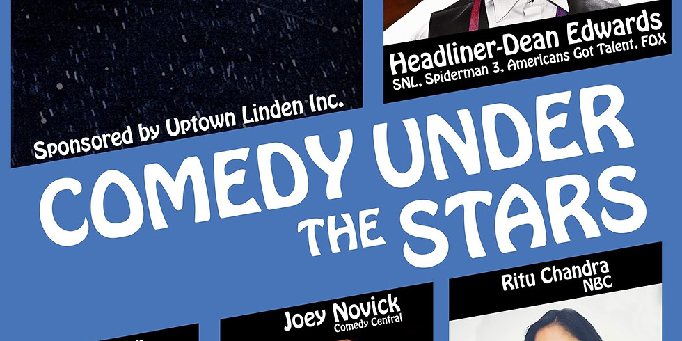 JUNE 6 COMEDY UNDER THE STARS