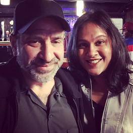with Dave Attell who was kind enough to offer me a guest spot on his show (Stress Factory, New Brunswick, NJ)