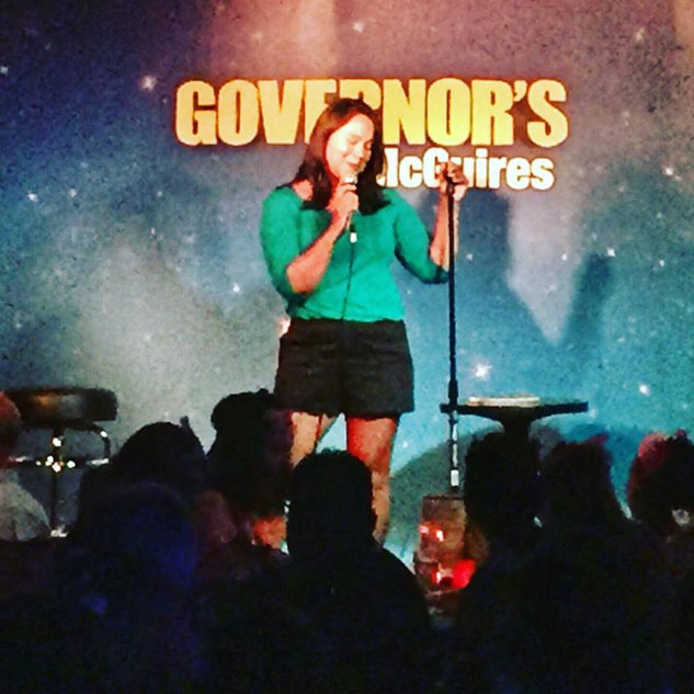 Hosting for Jessica Kirson at Governor's Comedy Club (Long Island, NY)