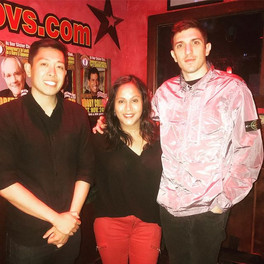 At Governor's Comedy Club (Long Island, NY) hosting for Andrew Schulz.