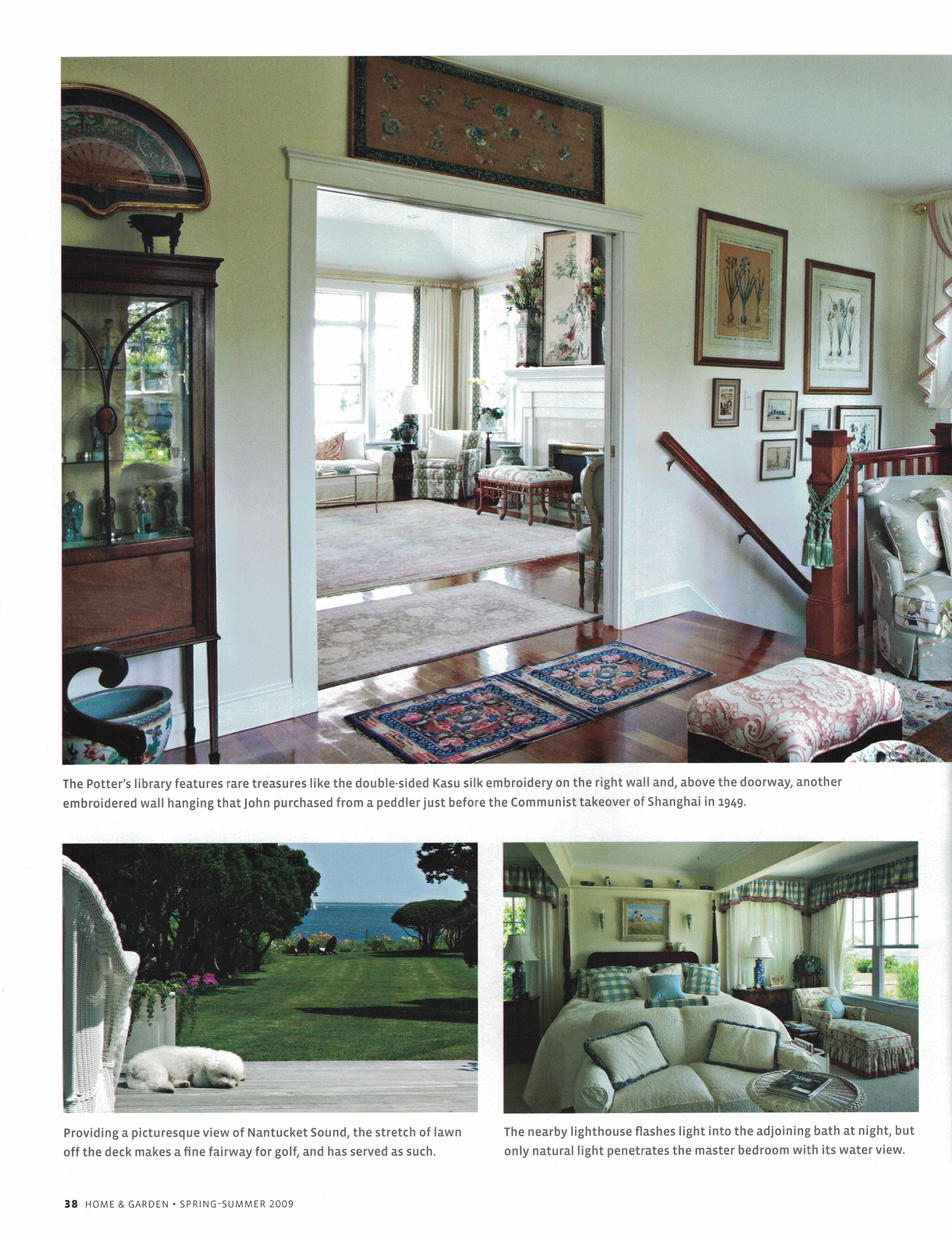 Marthas Vineyard Magazine Home & Garden Spring-Summer 2009 {Page 38}