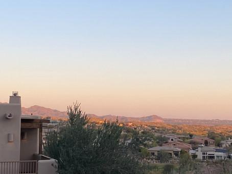 Southwest Desert Spring Serenity: Phoenix, Arizona