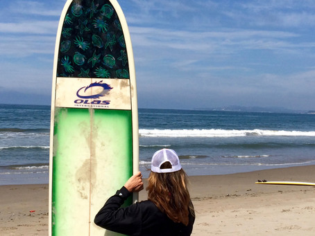 That One Time I Went Surfing